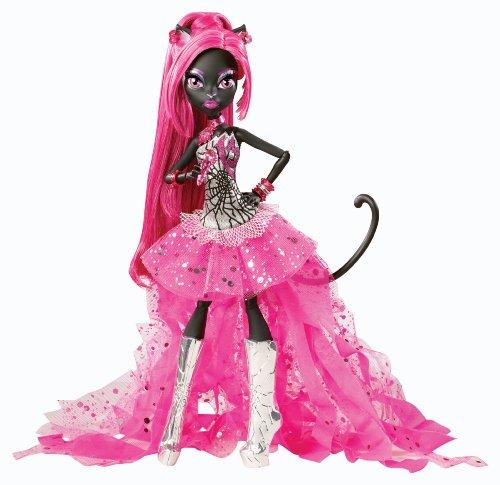 Mattel Monster High BGG74 -  Catty Noir, Tochter einer Werkatze, (High Monster Haustier)