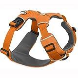 Ruffwear Ganztags-Hundegeschirr, Mittelgroße Hunderassen, Größenverstellbar, Größe: M, Orange, Front Range Geschirr, 30501-801M
