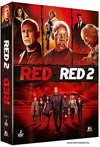 Coffret : RED + RED 2 - Coffret DVD