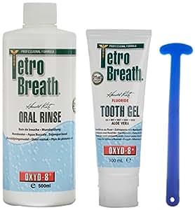 Tetrobreath Kit de traitement contre la mauvaise haleine
