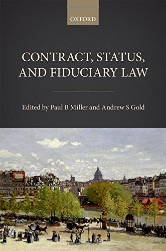Contract, Status, and Fiduciary Law