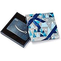 Amazon.de Geschenkkarte in Geschenkbox (Blau und Silber)
