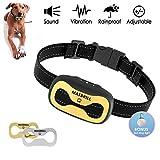 MASBRILL Anti-Bell-Hundehalsbänder mit 7 progressiven Korrekturstufen ohne Schock Harmlos Stufen hundeerziehung Halsband für Hunde von 4.5-50 KG