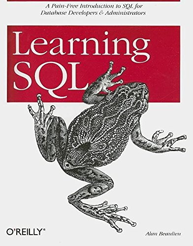 Portada del libro [(Learning SQL)] [By (author) Alan Beaulieu] published on (August, 2005)