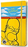 The Simpsons Notebook: Large, Ruled, Yellow