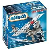 eitech 00067 - Set básico de construcción en metal, modelo avión / helicóptero [importado de Alemania]