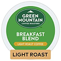 Green Mountain Coffee Breakfast Blend, Light Roast, K-Cup Portion Pack for Keurig Brewers 24-Count, (Package may vary)