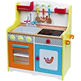 Imaginarium - Cocinita de madera con accesorios, Fresh Farm Grand Chef Kitchen (88663)