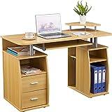 Genuine Piranha Tetra Computer Desk with Shelves