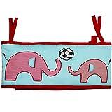 #2: Kadambaby - Elephant Themed Baby Cot / Baby Crib Bumper