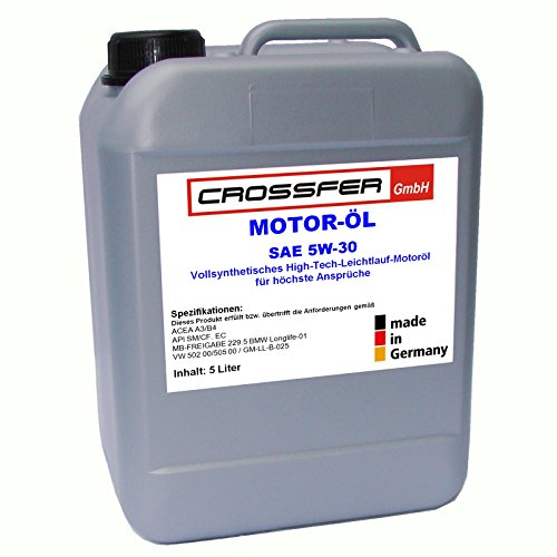 5 Liter Kanister ADDINOL Motoröl SAE 5W-30 SUPER POWER MV 0537 Vollsynthetisches High-Tech- Leichtlauföl der SAE-Klasse 5W-30 mit Longlife-Charakter