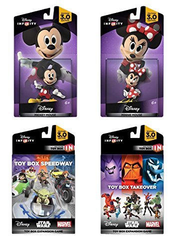 Disney Infinity 3.0 Edition: Mickey and Minnie Game Expansion Bundle - Amazon Exclusive by Disney Infinity (Infinity Ps3-bundle)