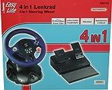 Hama 4 in 1 Lenkrad für PC/PS2/XboxTM und Game Cube