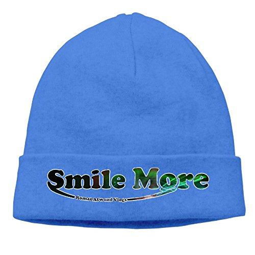 gtstchd-roman-atwood-smile-more-beanie-cap-hat-royalblue