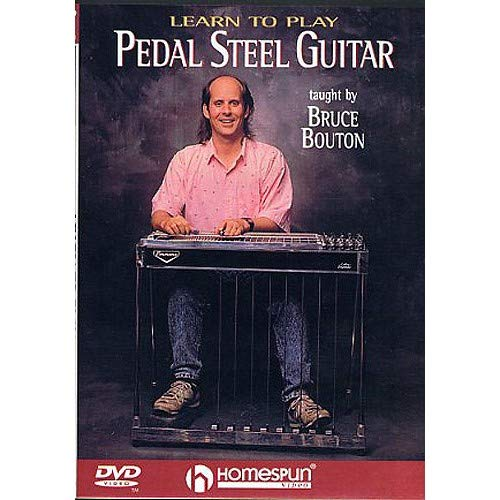 Bruce Bouton: Learn To Play Pedal Steel Guitar (DVD). Für Gitarre (Pedal-steel-dvd)