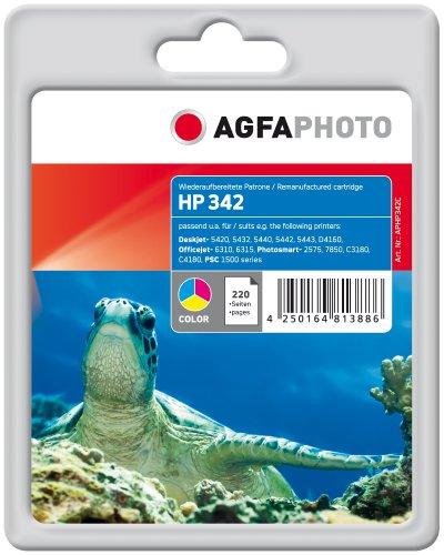 Preisvergleich Produktbild AgfaPhoto APHP342C Tinte für HP PSC1510,12 ml, farbig