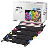 Liondo 4 Premium Toner Set Kompatibel zu Samsung CLP-310 CLP-315, CLX-3170, CLX-3170FN, CLX-3175 N/FN/FW