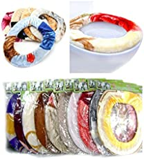 Pindia Fancy Multicolour Warm Toilet Seat Cover (warmtoiletcover)