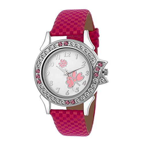Pzoz Analogue Multicolor Dial Watches For Women And Girls