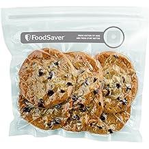 Foodsaver FVB015X - Bolsas para envasador al vacío con cierre tipo zip, color transparente
