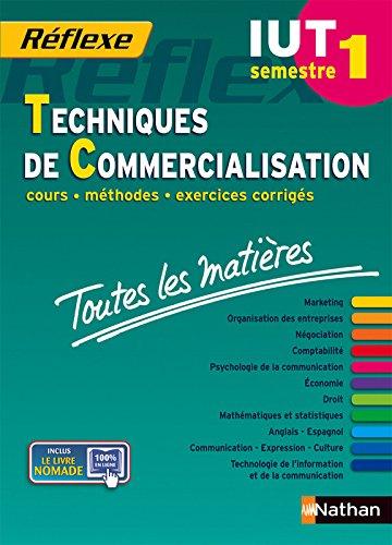 Toutes les matires IUT Techniques de Commercialisation - Semestre 1