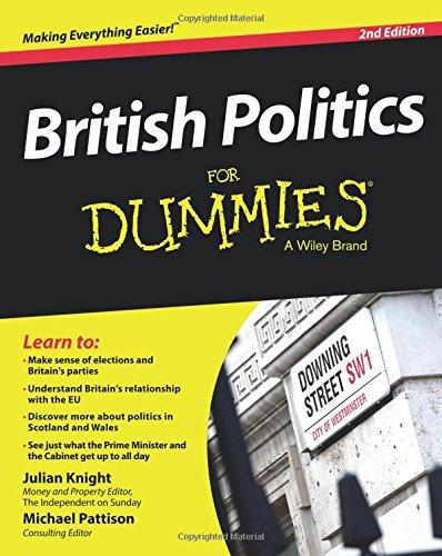 British Politics For Dummies 2e (For Dummies Series)