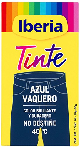 Iberia - Tinte 40C Azul Vaquero - [Pack de 6]