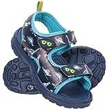 Mountain Warehouse Sandalias Sand para niño - Zapatos con Forro de Neopreno, Sandalias de Verano con Suela Resistente, Calzad
