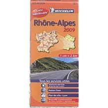 Rhône-Alpes : 1/200 000