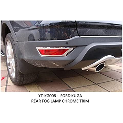 OMTEC cromado trasera antiniebla Bisel para Ford Kuga a partir de 2012yt-kg008Aftermarket tema