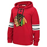 Reebok CCM NHL CHICAGO BLACKHAWKS Faceoff Jersey Pullover, Größe:XL