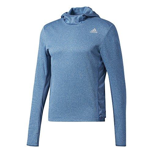 adidas Herren Response Astro Hood Longsleeve, Core Blue, XL -