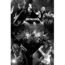 Póster 'Metallica-Live', Tamaño: 91 x 61 cm