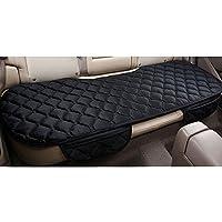 Sedeta® Cubierta larga de la silla de asiento trasero del vehículo del coche de lujo del terciopelo Alfombrilla protectora acolchada para conductor SUV, amigable para la piel cubre asiento acolchado p