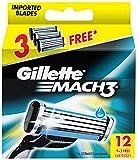 Gillette Mach3 Refill - 9 Cartridges wit...