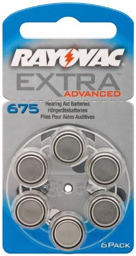 60 Cochlear Implantat-Batterien Implant Pro+ 675 von Rayovac (Cochlear-batterien)