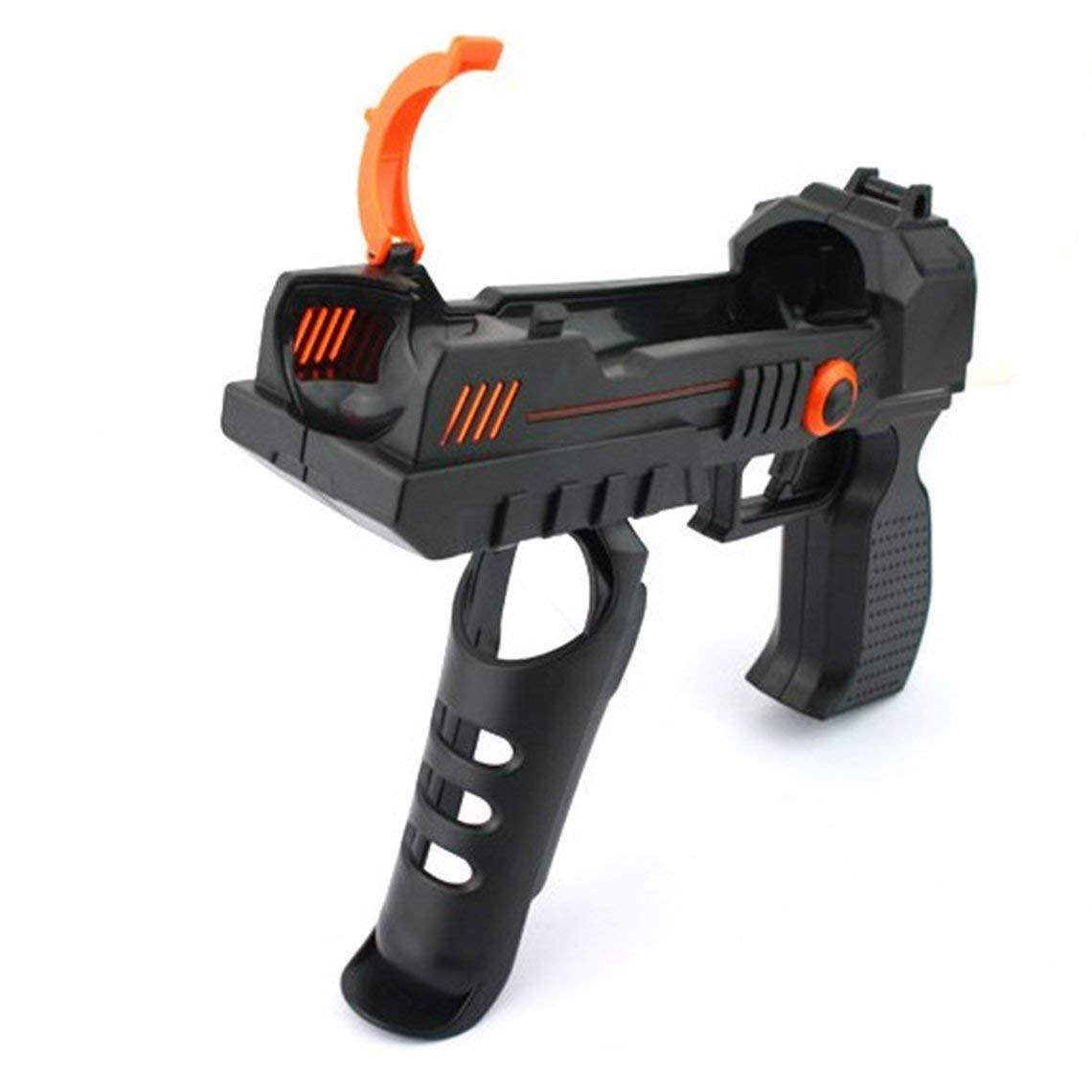 Zinniaya 2 en 1 Exquis Move Sharp Shooter Pistolet Motion Controller Attachment Nav pour PS3 pour PS4 VR Accessoires de Jeux