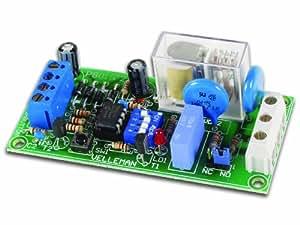 Kit relais multifonctions Velleman K8015 (Kit à monter) 9-12 V/AC - 12 V/DC Puissance de sortie 230 V/AC - 5 A 1 sortie