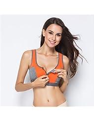 ZHUDJ Kampagne Bh Kein Stahl Ring Fitness Mädchen Partikel Des Yoga Weste Schock Instant-Trocken-Bh