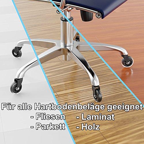 Xelotech 5er Set Hartbodenrollen Fur Ikea Burostuhl Preisvergleich