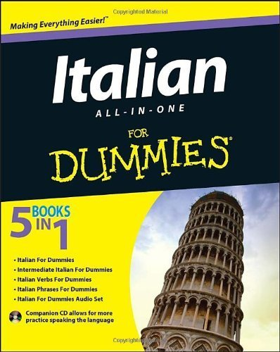 By Consumer Dummies Italian All-in-One For Dummies (1st Edition)