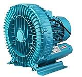 173850 220V 550W Motor Eléctrico Soplador Estanque De Peces Dispositivo de Aireación Oxígeno Industrial Turbo