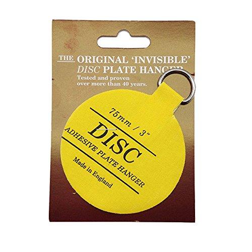 Disc Plate Hanger 75 mm, selbstklebend - Co Disc