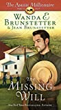 The Missing Will (Thorndike Press Large Print Christian Fiction, Band 4)