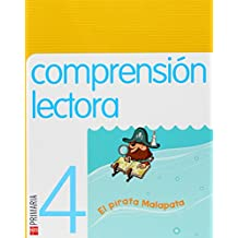 Comprensión lectora: El pirata Malapata. 4 Primaria - 9788467525922
