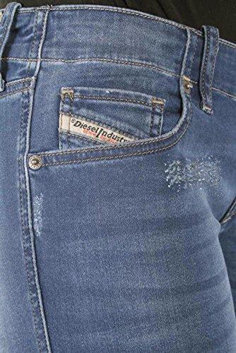 Diesel Grupee R8840 pantalons de jeans slim femme maigre Bleu