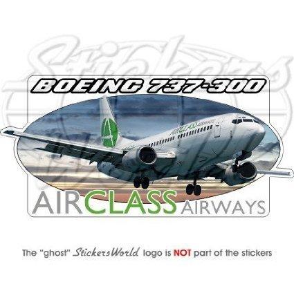 boeing-737-300-airclass-airways-flugzeug-160-cm-160-mm-vinyl-bumper-aufkleber-aufkleber