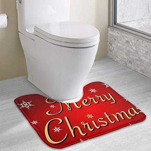 Hoklcvd Personalisierte Toilette Individuelle Gestaltung Ihrer eigenen Fotos WC U-förmige MatteCartoon weiche Matte Dusche Boden Teppichboden Badezimmer -