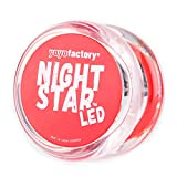 Yo-yo NightStar LED Light Up Yoyo by YoyoFactory - Rosso (Illumina yoyo, sfera di plastica cuscinetto, grande per i principianti)