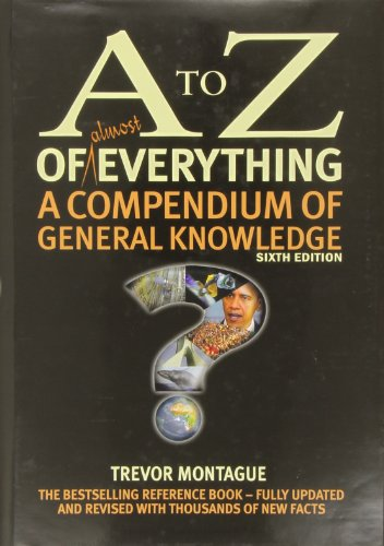 A to Z of Almost Everything, used for sale  Delivered anywhere in UK